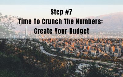 Step 7: Time to Crunch The Numbers | Create Your Budget