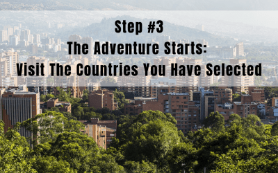 Step 3: The Adventure Starts | Country Visits